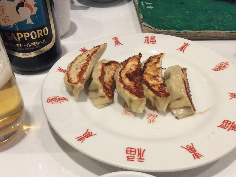 熱海壱番の餃子